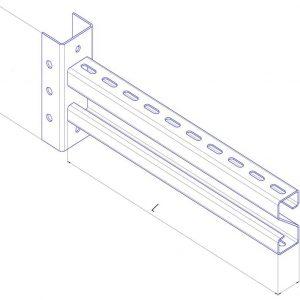 Несущие конструкции кабельроста
