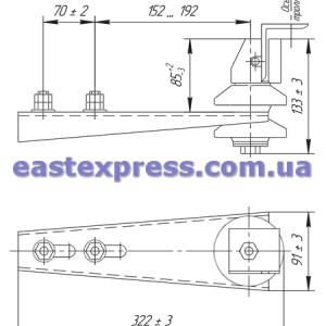 Троллеедержатели Д-30-ВГ-П, Д-30-ВГ-ПС