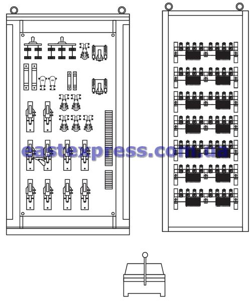 Устройства комплектные управления электроприводом (УКУЭП)