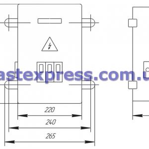 Ящики с понижающим трансформатором ЯТП 0,25