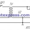 схема Ящики с понижающим трансформатором ЯТП 0,25